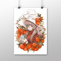 Botanical Witch: Tangerine